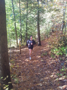 Hitting the trails and getting some hill training in.