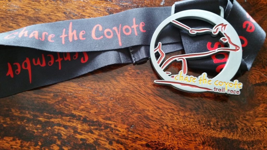 Chase the Coyote Trail Race. The race that changed my perspective on trail racing.