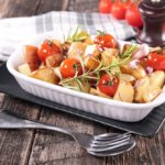 Step into Fall with This Time-Saving Whole Food Potato & Tomato Casserole