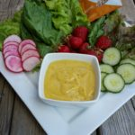 Oil-free Mango Hemp Salad Dressing