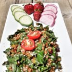 WHEAT BERRY, KALE & CRANBERRY SALAD