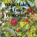 What Makes a Food Processed?